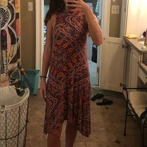 colorful anthropology dress